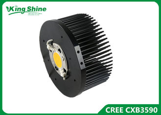 Çin CXB3590 3500K 36V CD/DB BIN cree cob led grow light with Meanwell Driver Tedarikçi